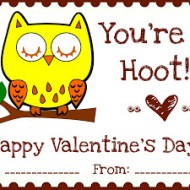 "{Printables} ""Owl Love You"" Valentines"