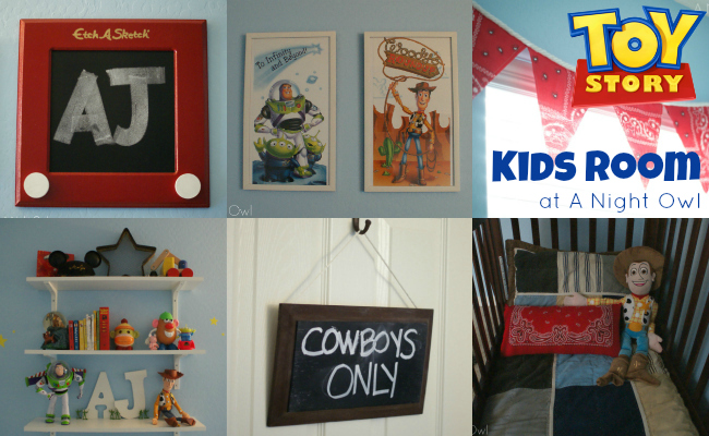 {Project Home} A Toy Story Bedroom
