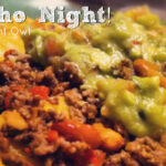 Nacho Night - a quick and easy family-pleasing meal by @anightowlblog