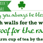 Irish Blessing Printables