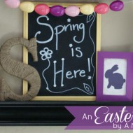 {Thrifty Thursday} An Easter Mantel
