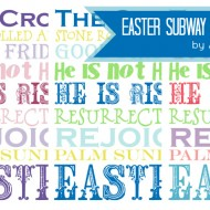 Easter Subway Printable Collection