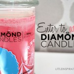 {Giveaway} Diamond Candles