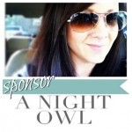 Sponsor A Night Owl in May!