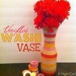 {Thrifty Thursday} A Washi Vase
