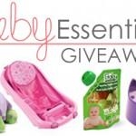{Giveaway} Baby Essentials!
