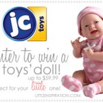 {Giveaway} JC Toy Doll!