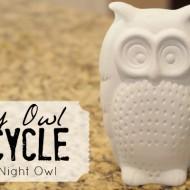 {Thrifty Thursday} An Easy Owl Upcycle