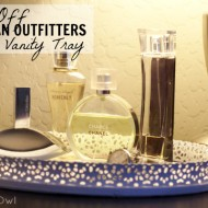 {Thrifty Thursday} Knock-Off Urban Outfitters Cut Lace Vanity Tray