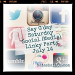 {Say G'Day Saturday} Social Media Linky Party