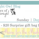 {7 Days of Giveaways} Day 1 :: Mine for the Making