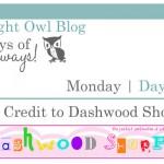 {7 Days of Giveaways} Day 2 :: Dashwood Shoppe