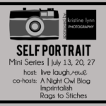 {Self Portrait Series} Week 1 :: Self Portrait Tips