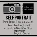 {Self Portrait Series} Week 3 :: Self Portrait Linky
