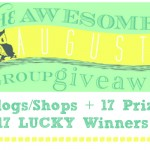 The Awesome August Group Giveaway