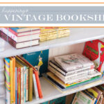 {Thrifty Thursday} DIY Vintage Bookshelf