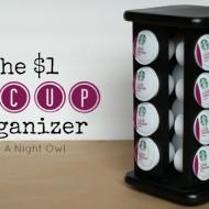 DIY Keurig K-Cup Organizer