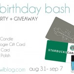 {Birthday Bash} Favorite Things Giveaway!