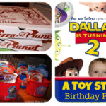 A Toy Story Birthday Party