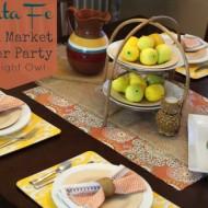 Santa Fe World Market Dinner Party