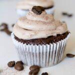 Mocha Cappuccino Hazelnut Cupcakes