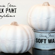 Annie Sloan Chalk Paint Pumpkins