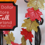 {Project Home} DIY Dollar Store Fall Garland