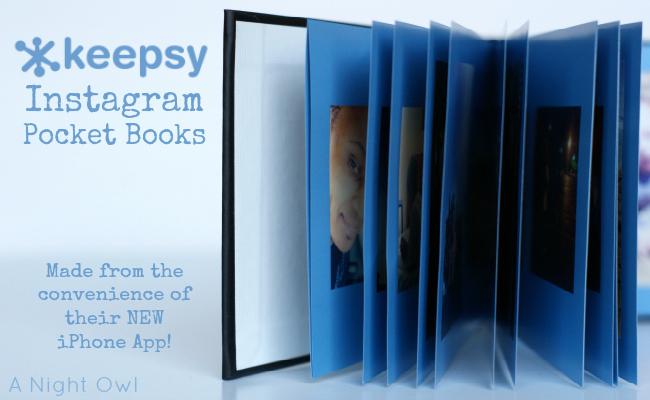 Keepsy iPhone App + Pocket Books