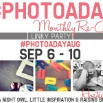 #PHOTOADAYAUG Monthly Re-Cap Party