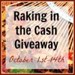 {Giveaway} Raking in the Cash