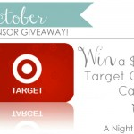 {October Sponsor Giveaway} $75 Target Gift Card