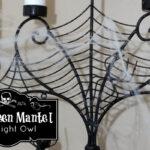 A Halloween Mantel