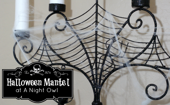 {Project Home} A Halloween Mantel