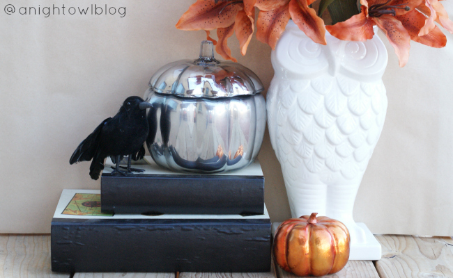 Knock-Off Pottery Barn Mercury Glass Pumpkins | #knockoff #potterybarn #mercuryglass #pumpkins #fall #thanksgiving #decor