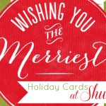 {Giveaway} Holiday Cards with Shutterfly