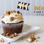 Halloween Candy Cupcakes Recipe