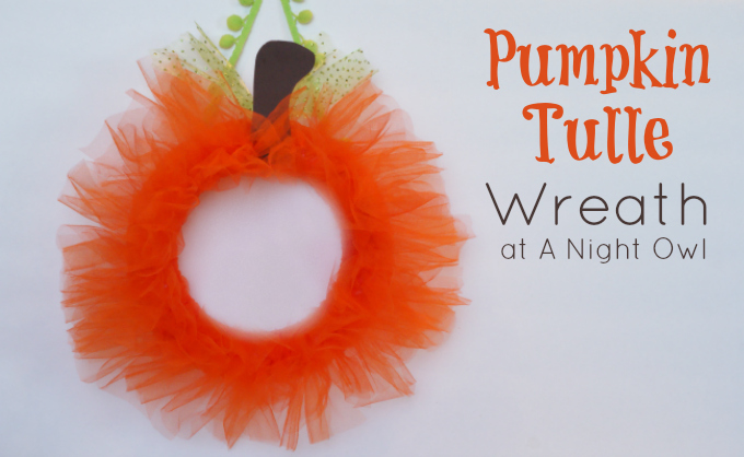 20 Crafty Days Of Halloween Pumpkin Tulle Wreath See Vanessa Craft