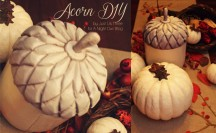 Acorn Upcycle Feature by Just Us Three at @anightowlblog