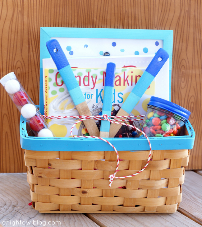 Baker's Delight Gift Basket by @anightowlblog