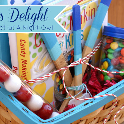 Baker's Delight Gift Basket with DecoArt at @anightowlblog