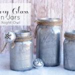 DIY Mercury Glass Mason Jars