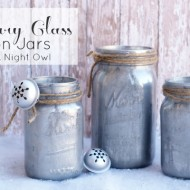 DIY Mercury Glass Mason Jars