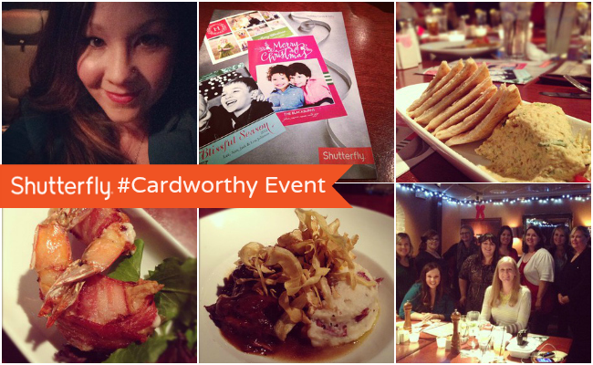 Shutterfly #Cardworthy Event at @anightowlblog