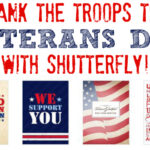 Thank the Troops this Veterans Day with Shutterfly