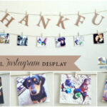 A Thankful Instagram Display with PostalPix