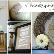 {Project Home} A Thanksgiving Mantel