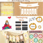 10 Thanksgiving Printables