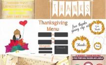 Thanksgiving Printables at @anightowlblog