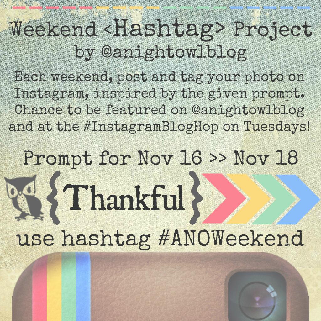 Weekend Instagram Hashtag Project @anightowlblog Nov16