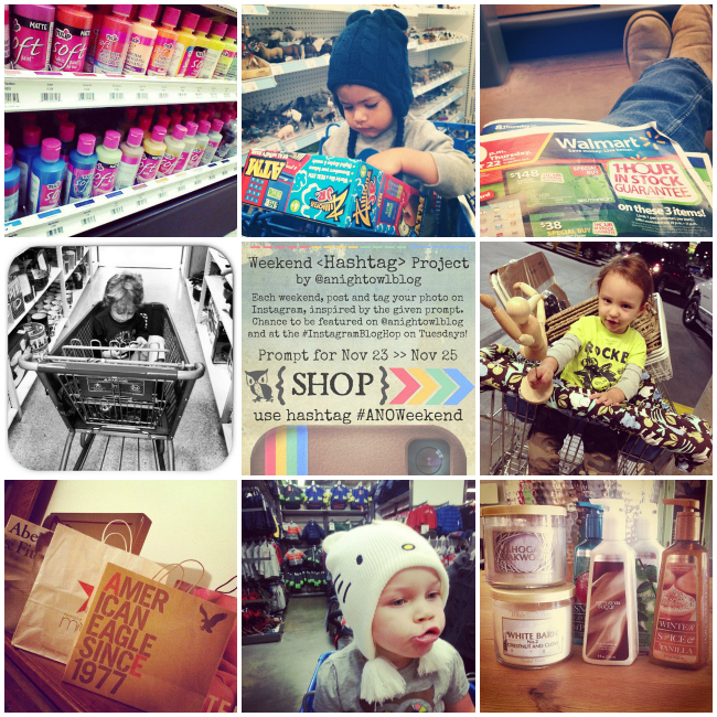 #anoweekend Instagram Hashtag Project - SHOP